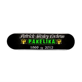 """7 1/4"""" cubierta del monopatín del tributo de Pakel"""
