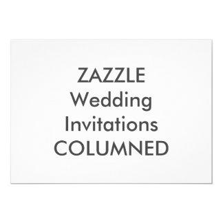 """7"""" COLUMNED x 5"""" invitaciones del boda Invitación 12,7 X 17,8 Cm"""