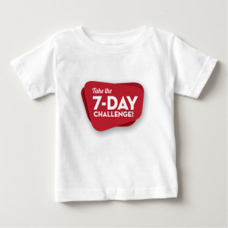 7 day-challenge-logo-1 camiseta de bebé