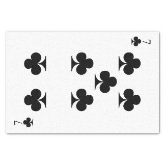 7 de clubs papel de seda