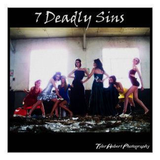 7 pecados mortales póster