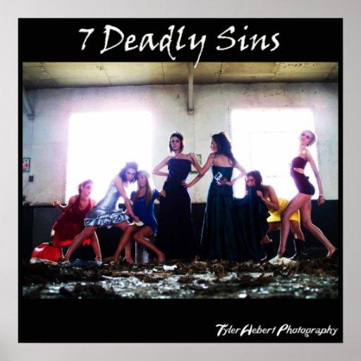 7 pecados mortales impresiones