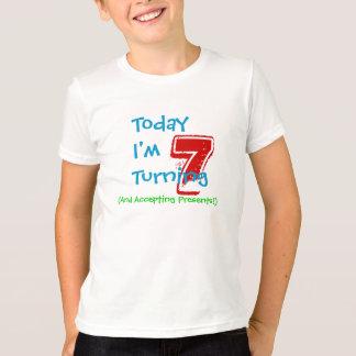7ma camisa del cumpleaños