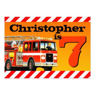 7ma fiesta de cumpleaños del coche de bomberos comunicado personal