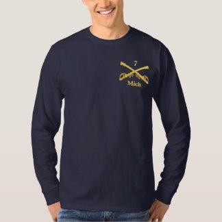 7mo Caballería de Michigan (rd) Camiseta