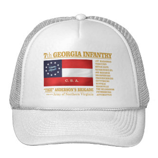 7mo Infantería de Georgia (BA2) Gorros