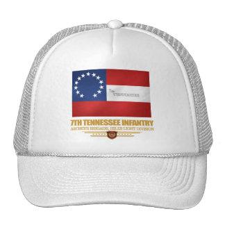 7mo Infantería de Tennessee Gorros