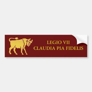 7mo Pegatina para el parachoques de la legión Etiqueta De Parachoque