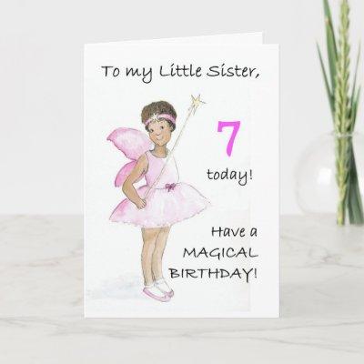 Cumpleaños para una hermana