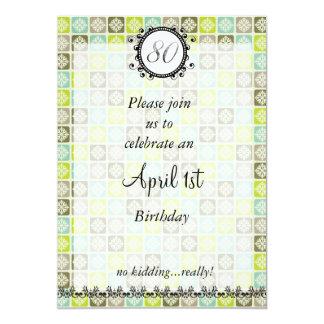 80.o Cumpleaños de los inocentes: Invitación