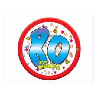 80 o Cumpleaños hoy