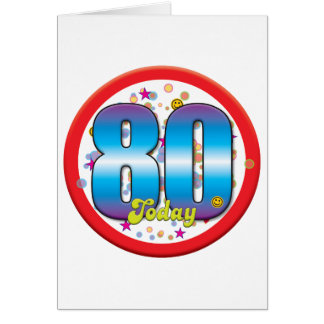 80.o Cumpleaños hoy v2 Felicitaciones