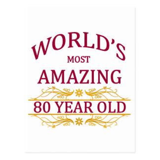 80 o Cumpleaños