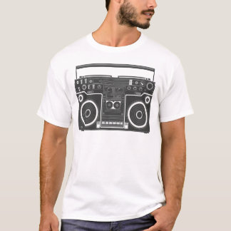 80s Boombox Camiseta