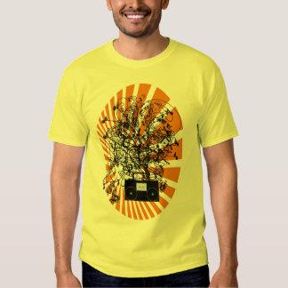 80s BoomBox - naranja Camisas