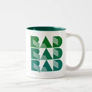 80s RAD Taza De Dos Tonos