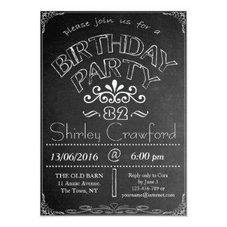 82.o Invitación de la celebración del cumpleaños