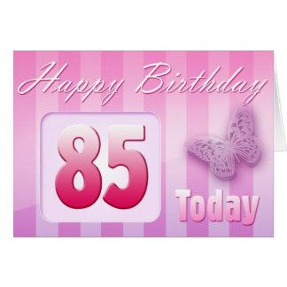 85a Grande-Tía feliz Mom de la abuela del Tarjeta De Felicitación
