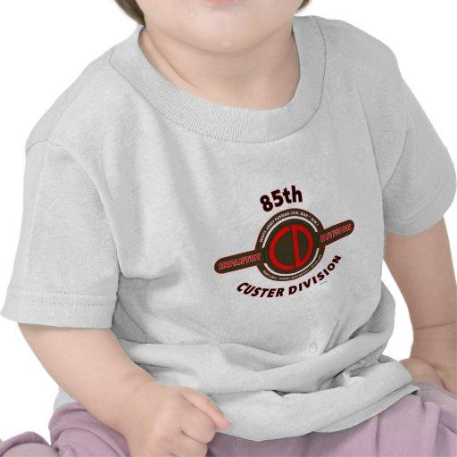 "85TH DIVISIÓN de INFANTERÍA ""DIVISIÓN de CUSTER "" Camisetas"