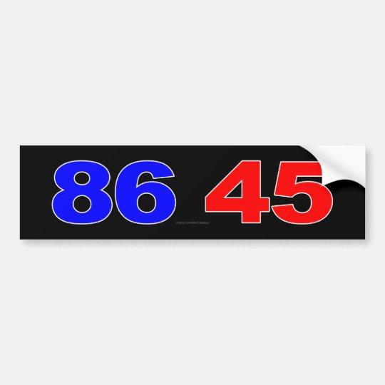 86 45 PEGATINA PARA COCHE