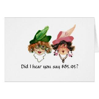 86.o cumpleaños chistoso para las mujeres tarjeta de felicitación
