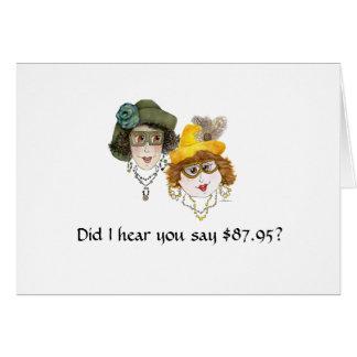 88.o cumpleaños chistoso para las mujeres tarjeta de felicitación