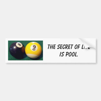 8-Ball 9-Ball Pegatina Para Coche