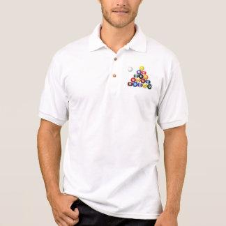 8 camisetas del estante de la bola