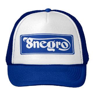 8negro blue cap gorros bordados