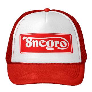 8negro red cap. gorro
