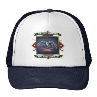 8vo Infantería voluntaria de Kansas Gorro