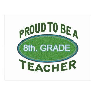 8vo orgulloso Profesor del grado Postal
