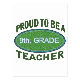 8vo orgulloso. Profesor del grado Postal