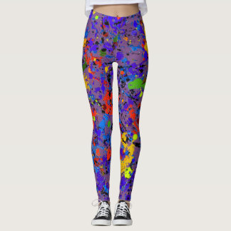 #902 abstracto leggings