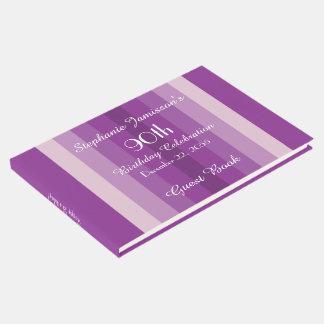 90.a fiesta personalizada de la memoria/de libro de visitas