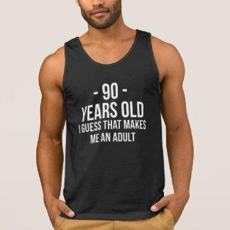 90 años adultos