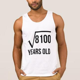 90 años de la raíz cuadrada