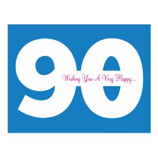 90.as postales felices del jalón del cumpleaños -