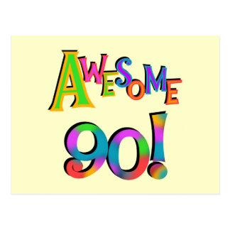 90 camisetas impresionantes y Gifs del cumpleaños Postal