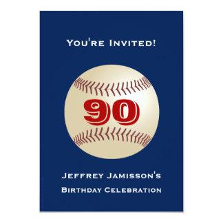 90.o Adulto del béisbol de la invitación de la
