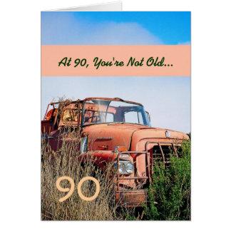 90 o camión feliz DIVERTIDO 90A del vintage del cu