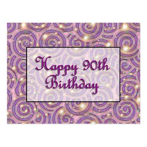 90.o cumpleaños feliz postales