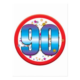90.o Cumpleaños v2 Postal
