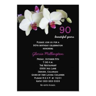 90.o Invitación de la fiesta de cumpleaños --