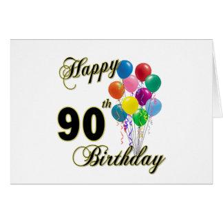 90 os regalos de cumpleaños y ropa felices del cum felicitaciones