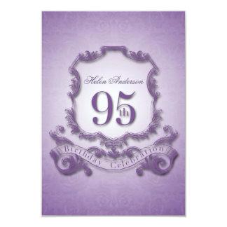 95.o Marco -2- del vintage de la celebración del Invitación 8,9 X 12,7 Cm