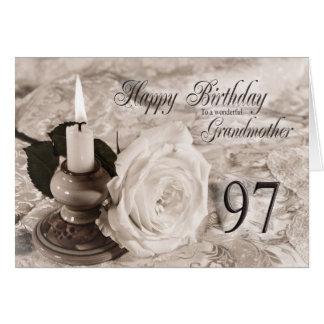 97.o Tarjeta de cumpleaños para la abuela