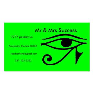999580-155 - Copia, Sr. y señora Success, payda Tarjetas De Visita