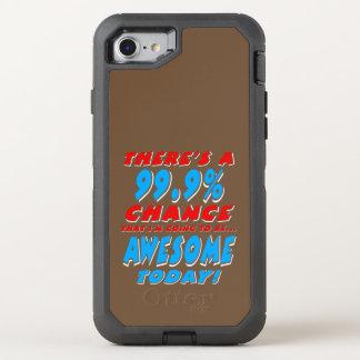 99,9% El IR A SER IMPRESIONANTE (blanco) Funda OtterBox Defender Para iPhone 8/7