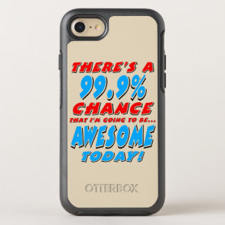 99,9% El IR A SER IMPRESIONANTE (negro) Funda OtterBox Symmetry Para iPhone 8/7